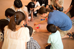 Ela teaching in Japan